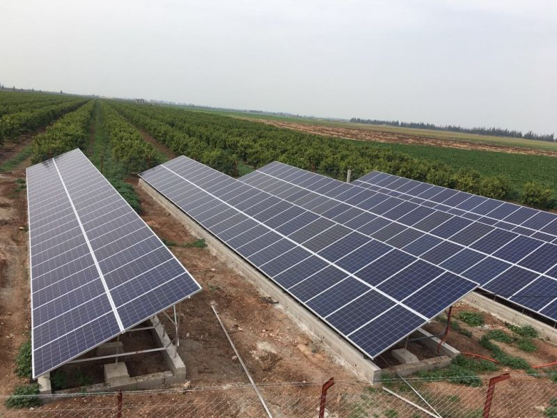 65 kWp PV systems with Luxor Solar modules in Beni Mellal, (Morocco)