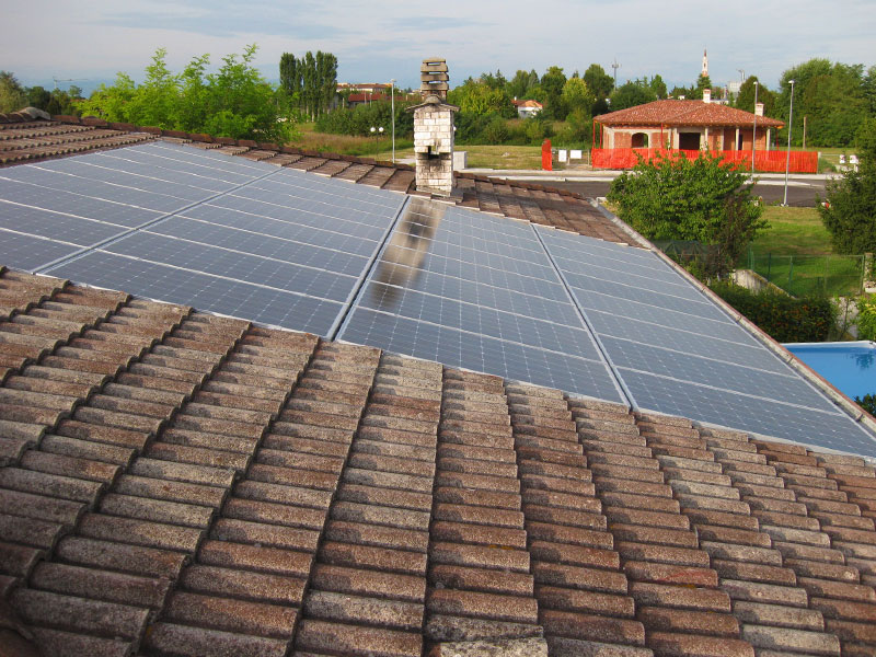 6.48 kWp PV systems with Luxor Solar modules in Azzano Decimo (Italy)