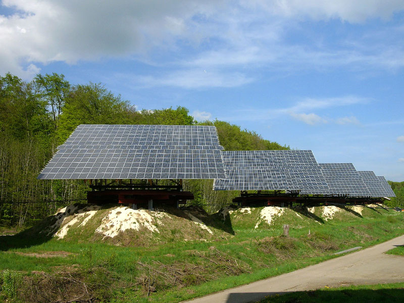2.3 MW Solar-Park with Luxor Solar modules in Radelstetten (Germany)